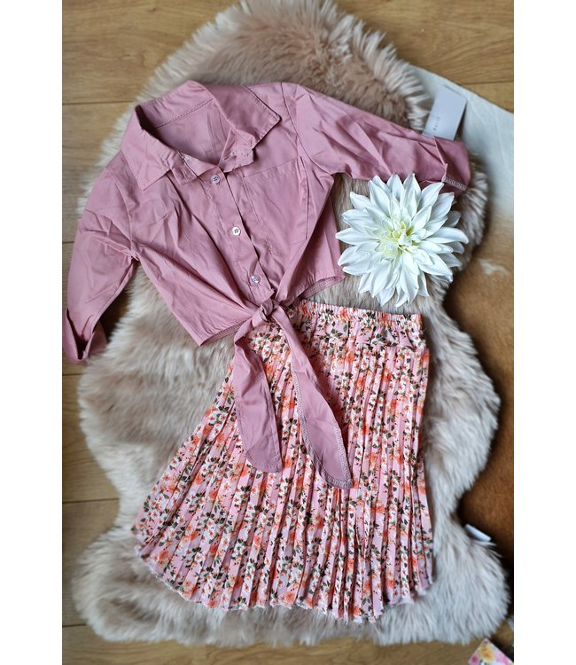 Happy Star Blouse Bloesem roze