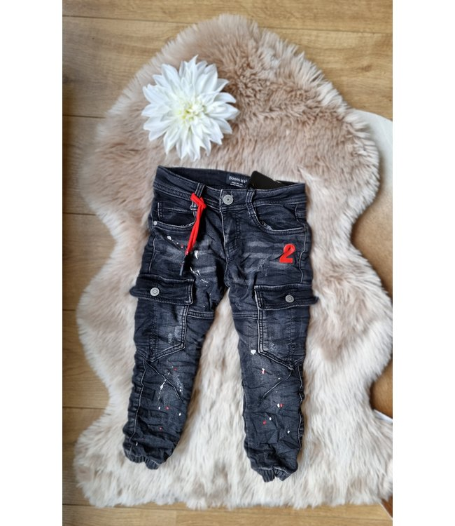 Jeans Dax rood
