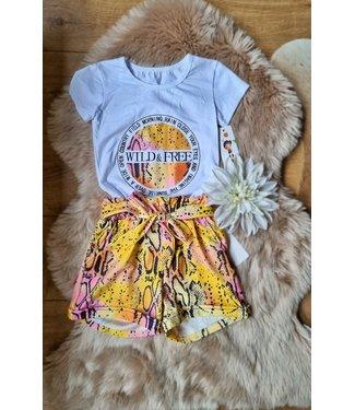 Fashion Set W&F roze/geel