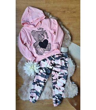 New Collection Littl Bear set roze
