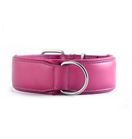 Rogue Royalty Rogue Royalty lederen halsband Classic roze