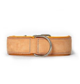 Rogue Royalty Rogue Royalty lederen halsband Classic buckskin