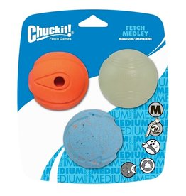 Chuckit Chuckit Fetch Medley 3-pack