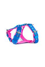 MAG MAG tuig met fleece Blauw/neon roze