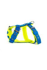 MAG MAG tuig met fleece blauw/neon geel