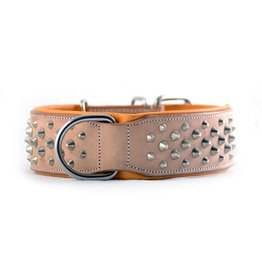 Rogue Royalty Rogue Royalty lederen halsband Ruffneck Buckskin