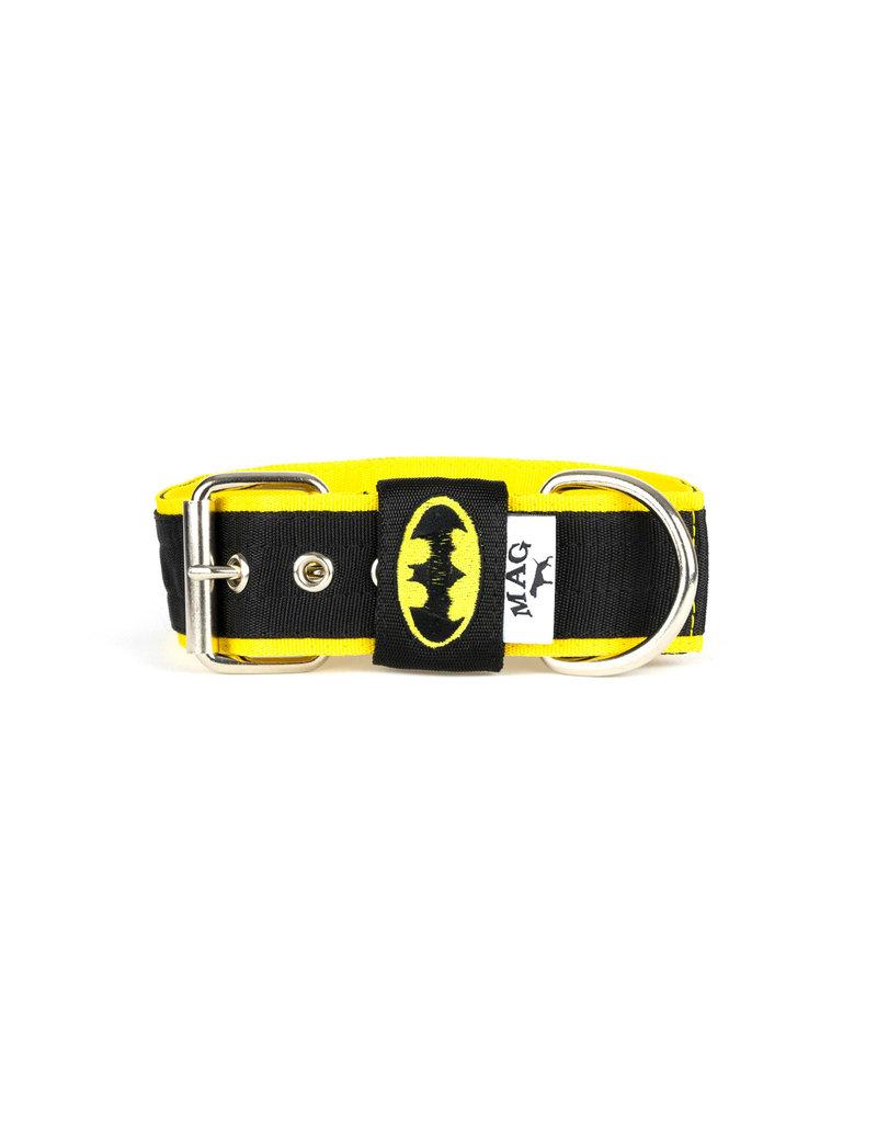 MAG  halsband Batman zwart/geel