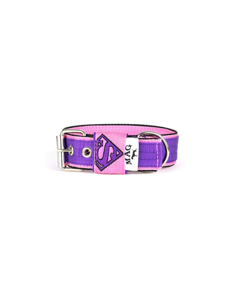 MAG MAG halsband Superman paars/roze