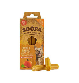 Soopa Soopa Dental Sticks -Pumpkin & Carrots