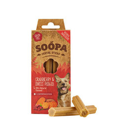 Soopa Soopa Dental Sticks - Cranberry Sweet Potato