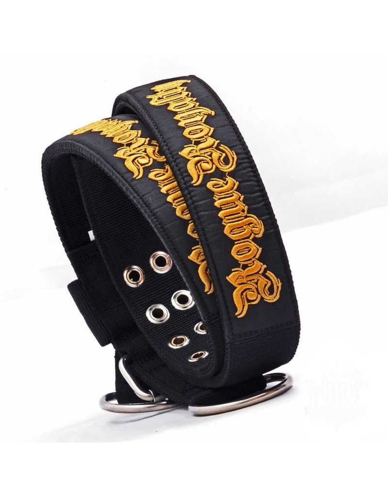 Rogue Royalty Dog Collar - SUPATUFF® Embroidered RR