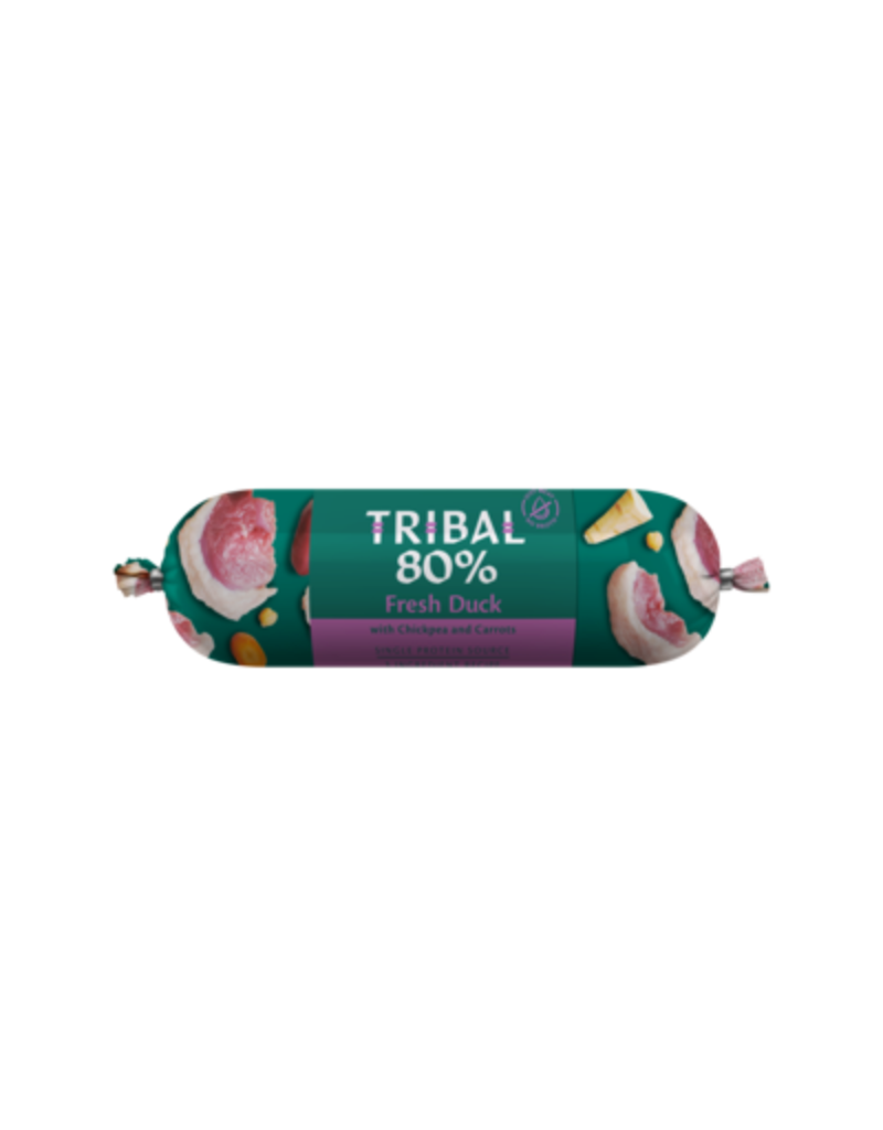 Tribal Tribal graanvrije worst 80% Eend 750 gr
