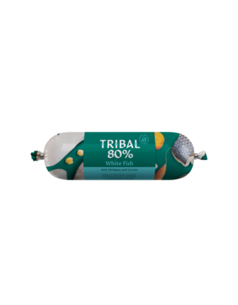 Tribal Tribal graanvrije worst 80% Witvis 750 grr