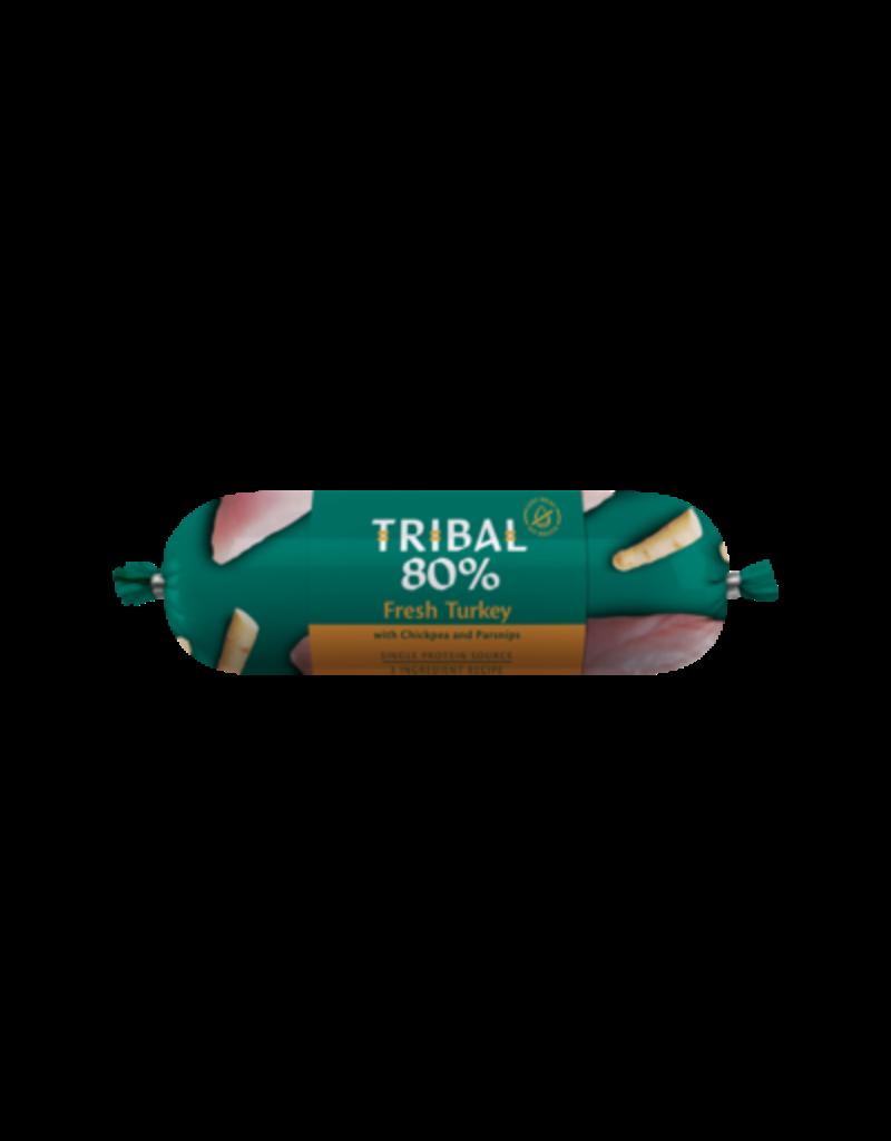 Tribal Tribal graanvrije worst 80% Kalkoen 750 gr