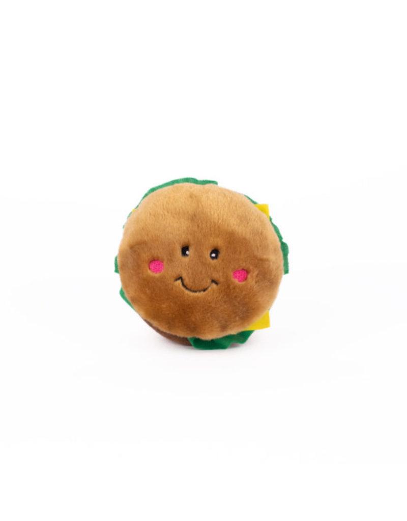 Zippypaws ZippyPaws  NomNomz Hamburger