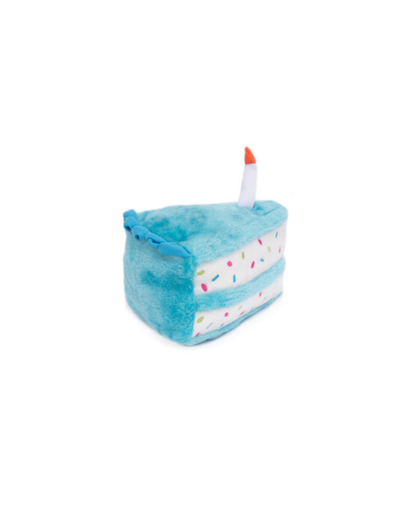 Zippypaws ZippyPaws Birthday Cake Blue