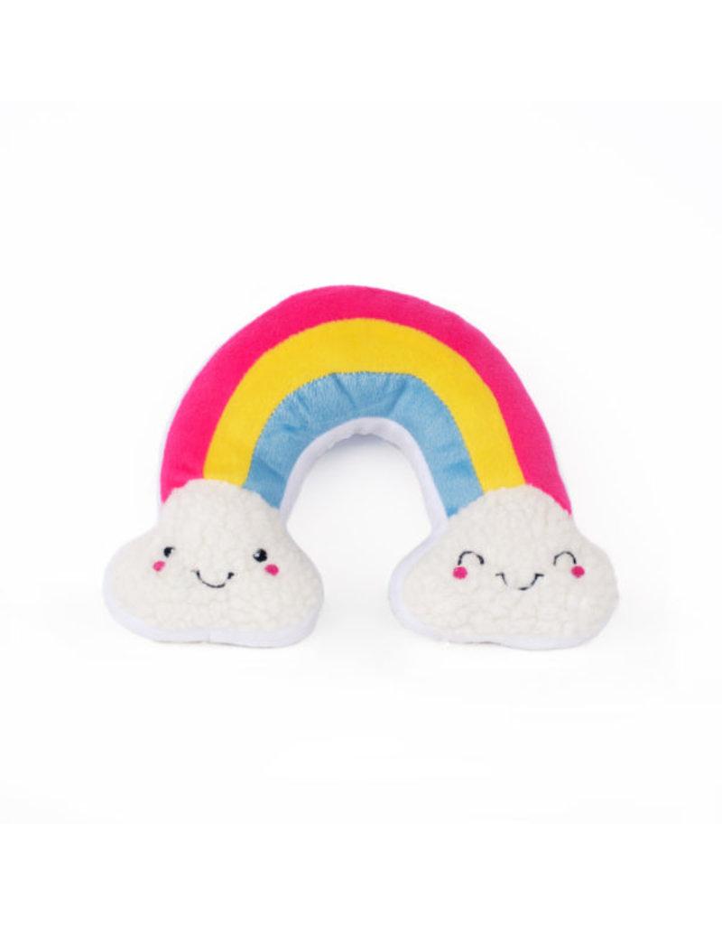 Zippypaws Squeakie Pattiez Rainbow