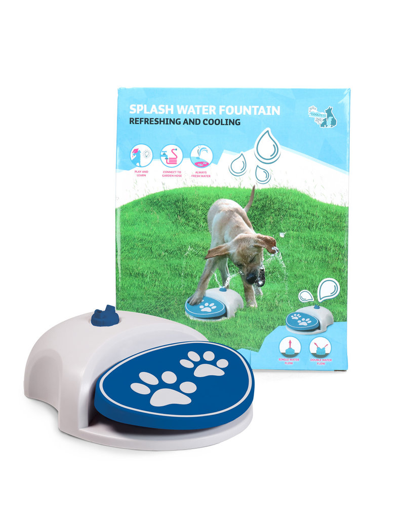 CoolPets Splash Water Fountain
