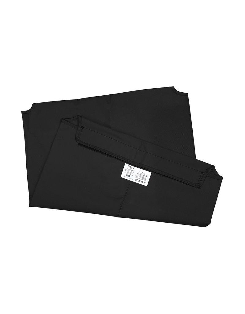 HIK9 HIK9 bed canvas mat zwart frame