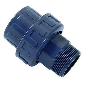 """Cepex PVC 3/3 koppeling 1"""" binnendraad / 1"""" buitendraad Cepex"""