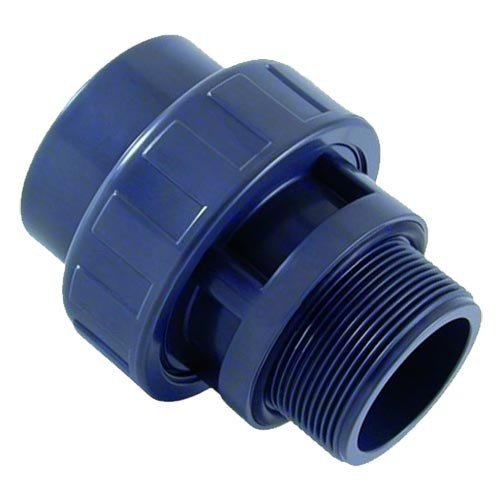 "Cepex PVC 3/3 Koppeling Pompaansluiting 50 mm x 1½"" buitendraad Cepex"
