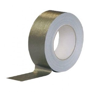Afdichtingstape klustape grijs vezenversterkt 50mtr x 5cm