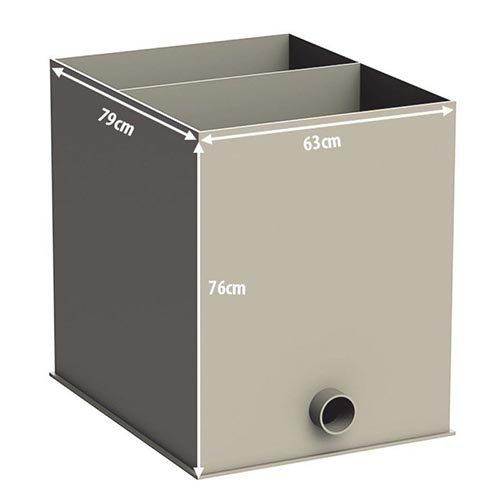 Aquaforte Aquaforte Biokamer Gevuld en Compleet