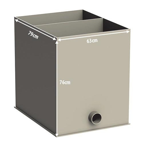 Aquaforte Aquaforte Biokamer Leeg