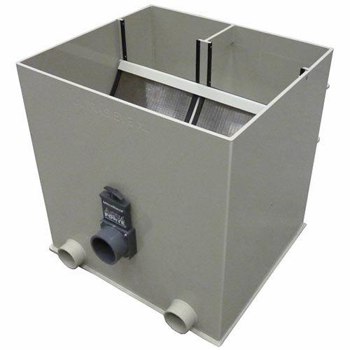 Aquaforte Aquaforte UltraSieve Low ''XL'' zeefbochtfilter 300 micron (3 ingangen)