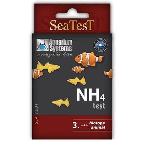 Aquarium Systems (AS) As Sea Test Nh4