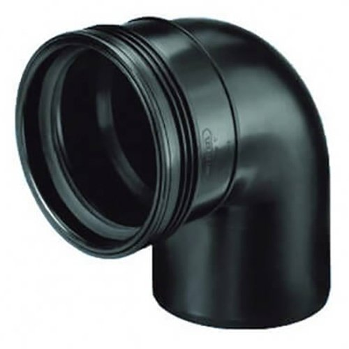 Bocht 90° Spie/Manchet 40 mm