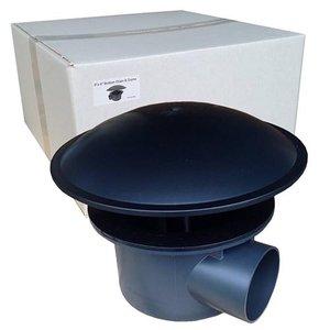 Bodemdrain met kamer 110 mm (EXTRA ZWAAR)