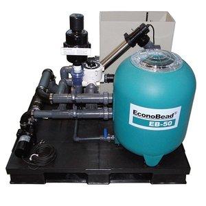 Aquaforte Compleet Econobead filtersysteem EB-50 met Aquaforte DM Vario 20000