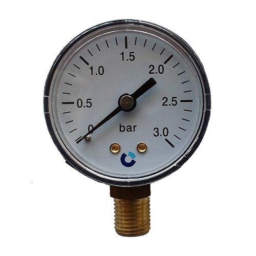 Aquaforte Drukmeter t.b.v. de econobead en ultrabeadfilters