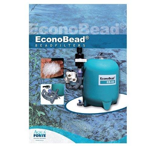"Aquaforte Aquaforte EconoBead filter EB60     63 mm + 2"" klep"