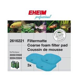 Eheim Eheim Schuimstof Filtermat Blauw voor 2222/2224-2322/2324 3 stuks