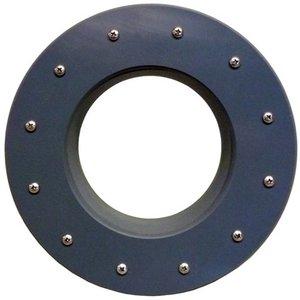 Merkloos Extra grote foliedoorvoer zware kwaliteit 250 mm