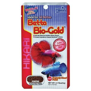 Hikari / Saki Hikari Hikari Betta Biogold 5 gram