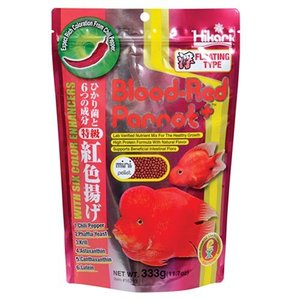Hikari / Saki Hikari Hikari Blood-Red Parrot Plus Mini 333 gram