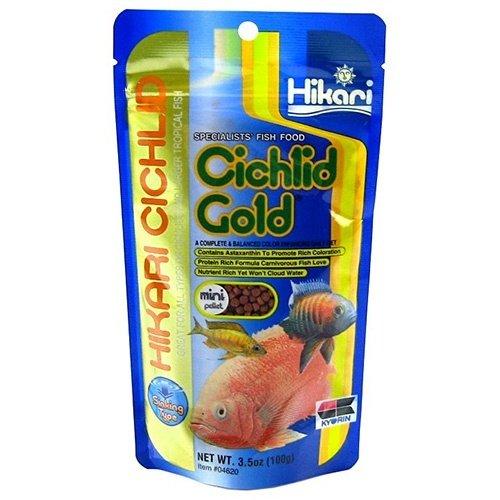 Hikari / Saki Hikari Hikari Cichlid Gold Medium 100 gram Sinking
