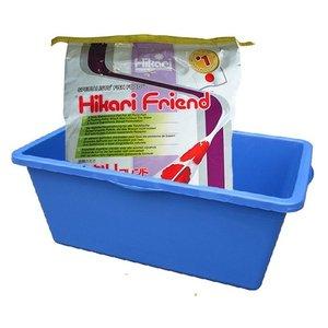 Hikari / Saki Hikari Hikari Friend Large 10 KG + Kunstof Meetbak
