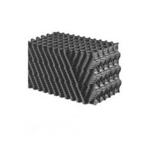 Honingraat filtermedium 120 x 30 x 30cm Zwart