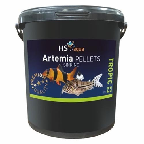 HS Aqua HS Aqua Artemia Pellets Sinking 10 ltr
