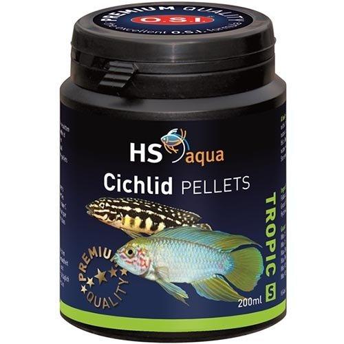 HS Aqua HS Aqua Cichlid Pellets Small 200 ml