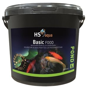 HS Aqua Hs Aqua Pond Food Basic L 5 ltr
