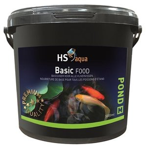HS Aqua Hs Aqua Pond Food Basic M 5 ltr
