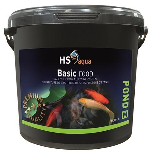 HS Aqua Pond Hs Aqua Pond Food Basic M 5 ltr