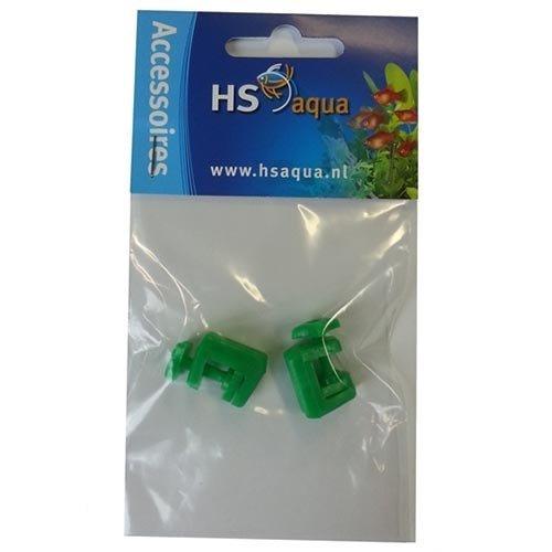 HS Aqua Hs Aqua Slangklem Plastic Groen 4-6 per 2 stuks