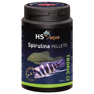 HS Aqua HS Aqua Spirulina Pellets Medium 1000 ml