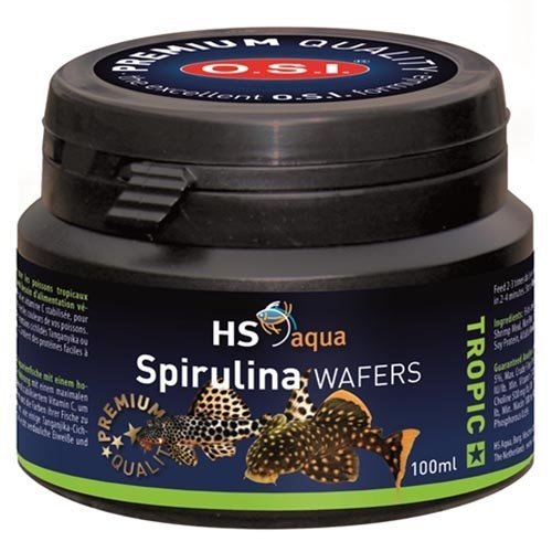 HS Aqua HS Aqua Spirulina Wafers 100 ml